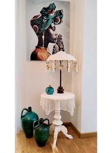 Arte Casero Dekoratif Şemsiye Büyük Boy 76 cm Renkli